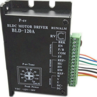 BLD 120A CE ROHS Brushless DC Motor Driver BLDC Controller BLD 120A For 120W Less 42