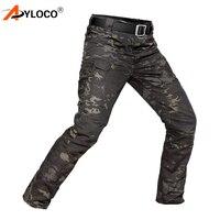 Brand IX7 Archon Tactical Pants Men's Cargo Casual Pants Army Multi Pockets Unique Combat SWAT Military Work Trousers Men 5XL