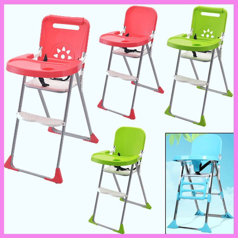 Baby Furniture Baby High Chair Portable Feeding Highchair Portable Folding Kids Table Chair Children Child Eating Dinning Chair eating disorders