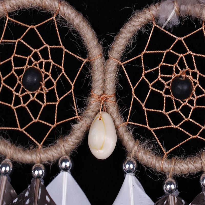 MS8069 OWL lələk naxışları Dream Catcher Divar asma Dekorasiya - Ev dekoru - Fotoqrafiya 4