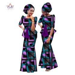Новая африканская восковая печать женский набор Дашики размера плюс африканская одежда наряды и головной убор традиционная африканская од...