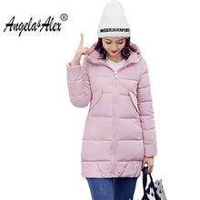 Autumn and Winter Basic Coat 2017 Women s Fashion Warm Cotton Jacket Female Parka