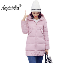 Autumn and Winter Basic Coat 2017 Women's Fashion  Warm Cotton Jacket Female Parka