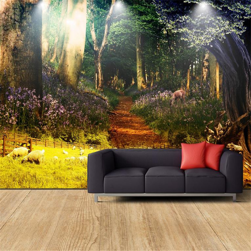 3d Modern Custom High Quality Photo Wallpaper Nature