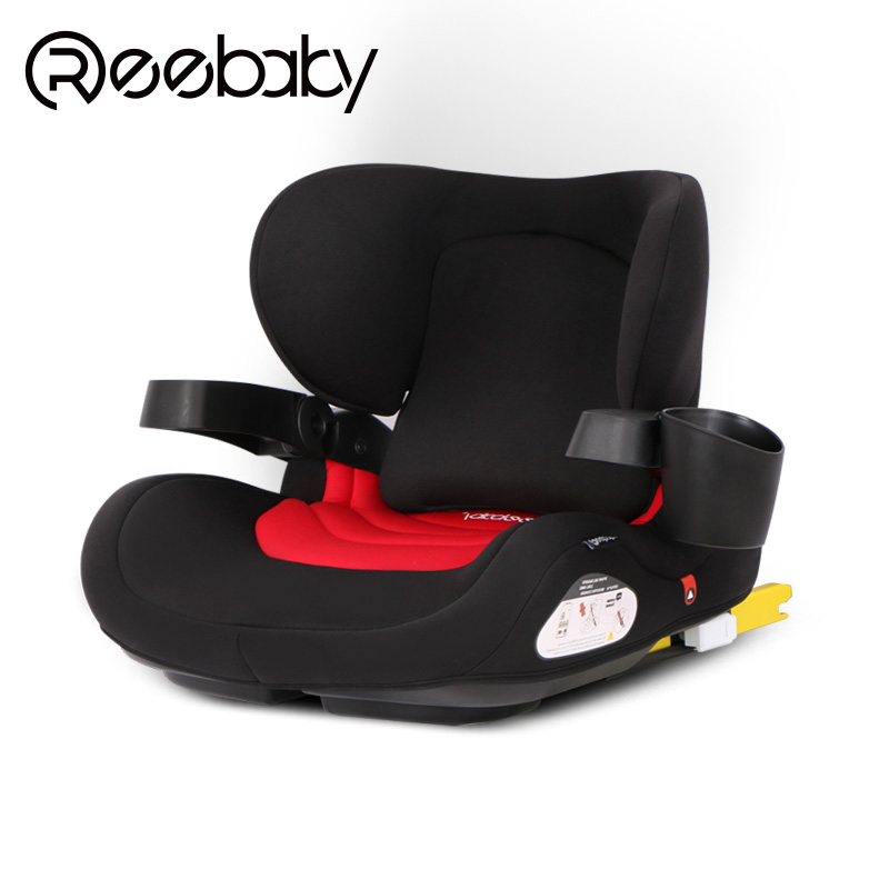 3-12 Years Old Universal Child Car Seat Portable Car Booster Pad ISOFIX Hard Interface