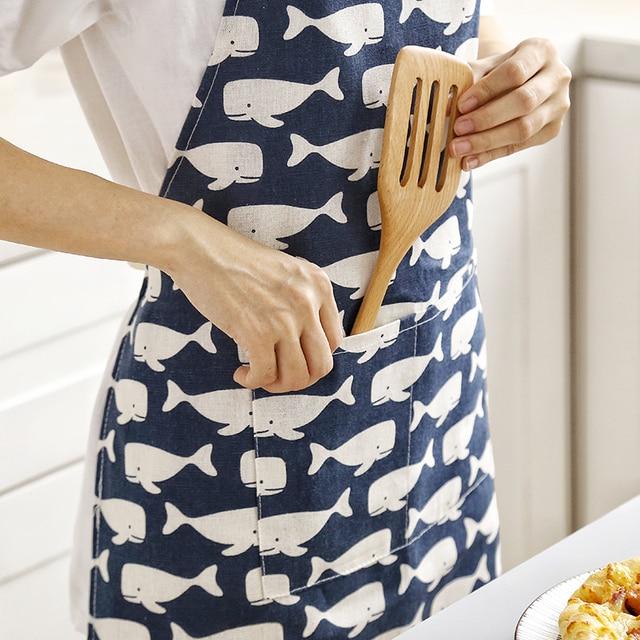 1 pcs Plaid Modello Grembiule Donna di Età Bavaglini Per Bambini Casa di Cottura