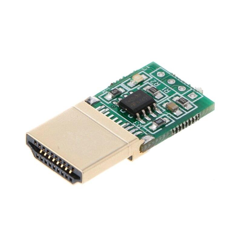 OPEN-SMART HDMI Dummy Plug Headless Ghost Display Emulator Fake Displaying 1920x1080 @60Hz non working fake dummy phone sample display model for iphone 5