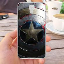 Mutouniao Avengers Design-1 Silicon Soft TPU Case Cover For Infinix Note 4 X572 Hot S3 X573 Smart X5010(China)