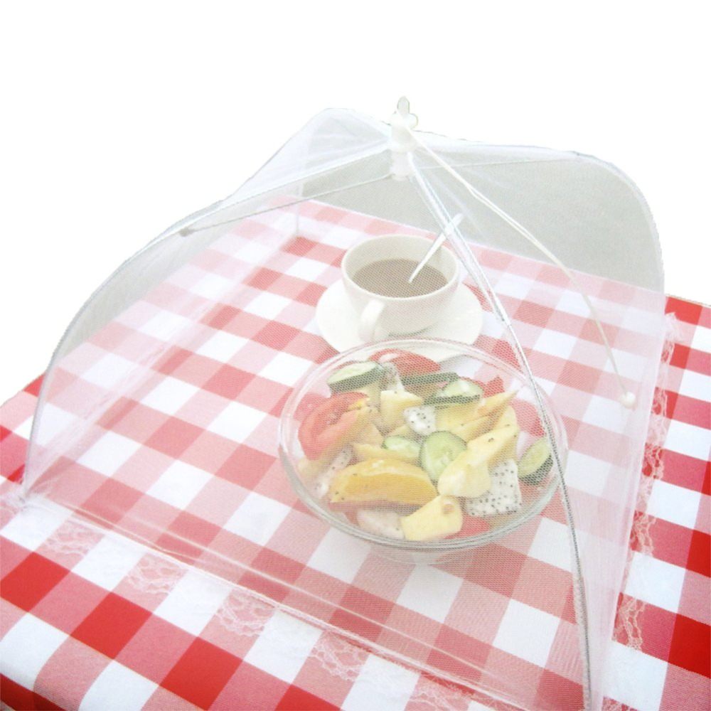 release date: ff31b 098f1 Large Pop-Up Mesh Screen Food Cover Anti Mosquito Fly Resistant Tent Lace  Net Umbrella Collapsible Outdoor Picnic Food Covers