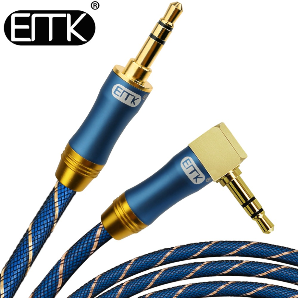 EMK 3.5mm audio cable 90 degree right angle round jack 3.5 mm aux cable for car iPhone MP3 4 headphone beats speaker aux cord 5m vention audio jack 3 5mm aux cable male to male 90 degree angle round audio cable for car headphone mp3 4