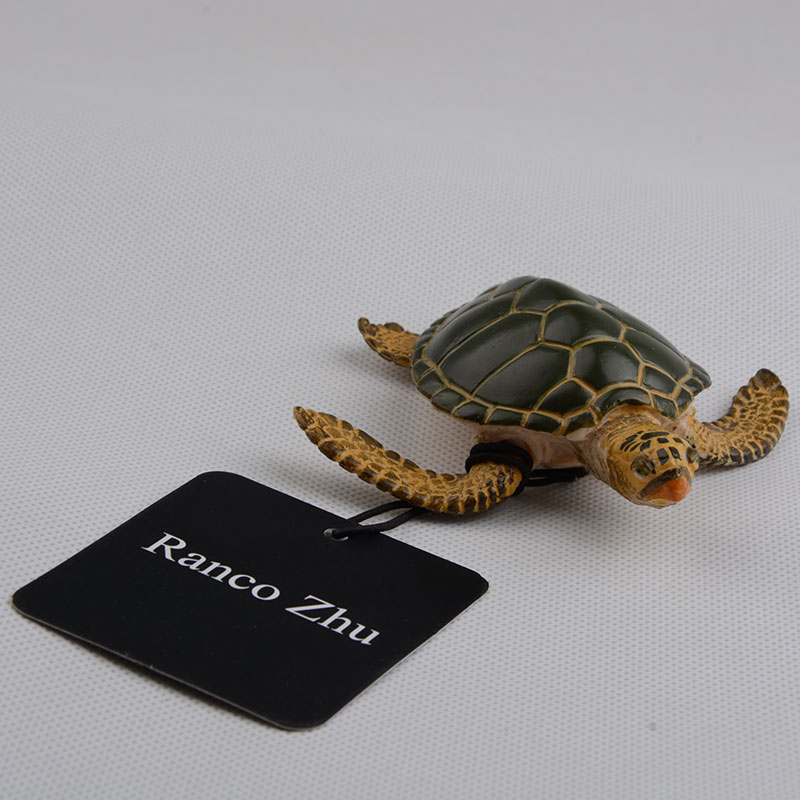 Turtles-Figure Early-Education Children Animals for And Play with Gift-Box Ranco Zhu