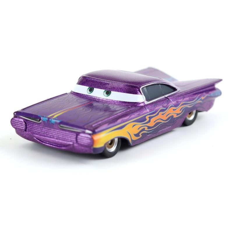 Cars Disney Pixar Cars 2 3 Lightning McQueen Mater Huston Jackson Storm Ramirez 1:55 Diecast Metal Alloy Christmas Gift 1 PCS