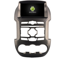4G lite 2 GB ram Android 6.0 cuádruple núcleo reproductor de dvd del coche grabadora de radio estéreo del gps NAVI para FORD RANGER 2011-2014 cabeza unidades