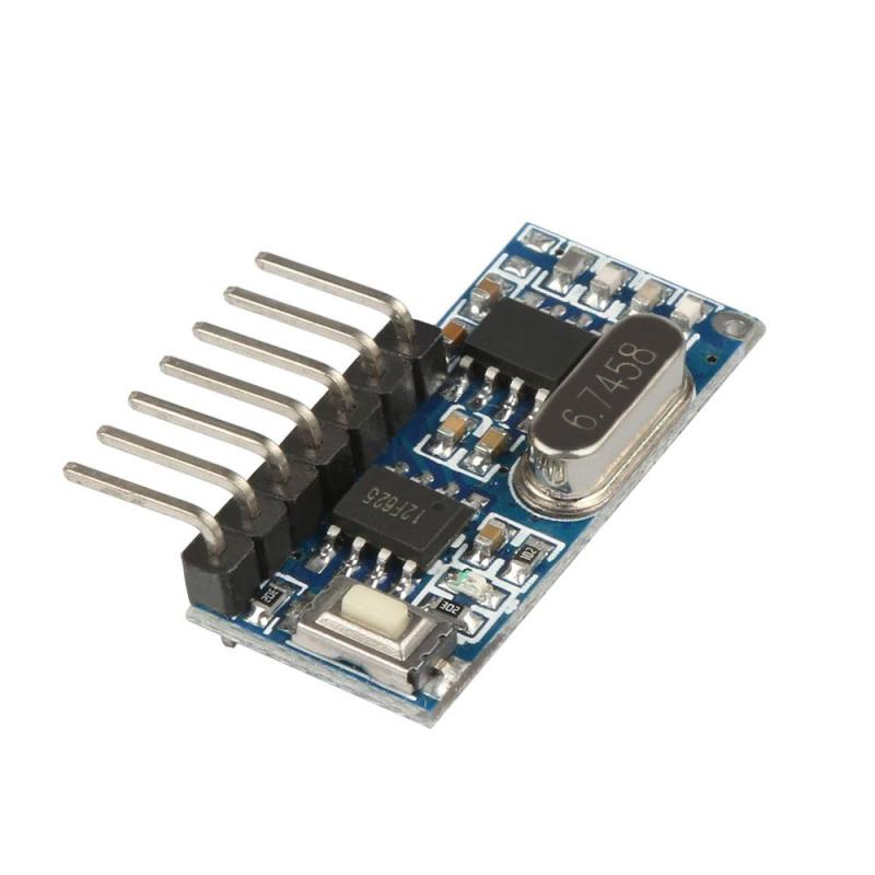 315mhz RF Learning Code 1527 Decoder Receiver Module Wireless 4 buttons output self-locking For Remote Control light LED Switch