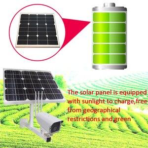 Image 4 - Panel de energía Solar de 30W cámara IP de vigilancia CCTV para exteriores, seguridad de 1080P, Onvif, Wi fi inalámbrico, 3G4G, SIM, tarjeta SD de 16GB gratis