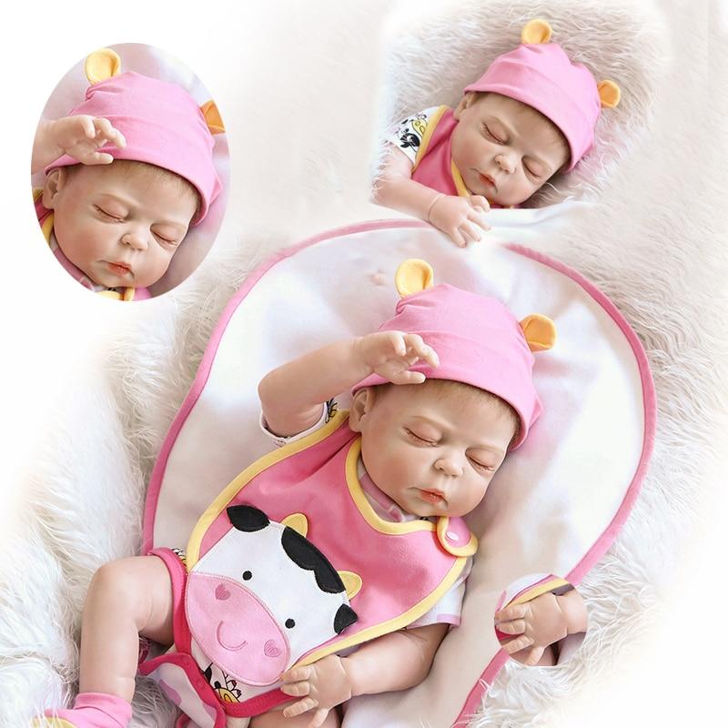 57cm NPK 아기 인형 전체 실리콘 아기 장난감 아기 인형 유아 소프트 시뮬레이션 진짜 아기 선물 완구-에서인형부터 완구 & 취미 의  그룹 2