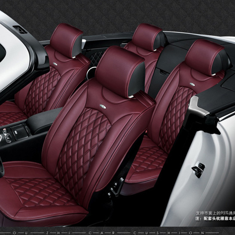 for FIAT Idea Panda Ottimo C Medium Punto luxury soft leather car seat cover  front and rear set waterproof cover for car seat-in Automobiles Seat Covers  ... 75c5fcd986d4d