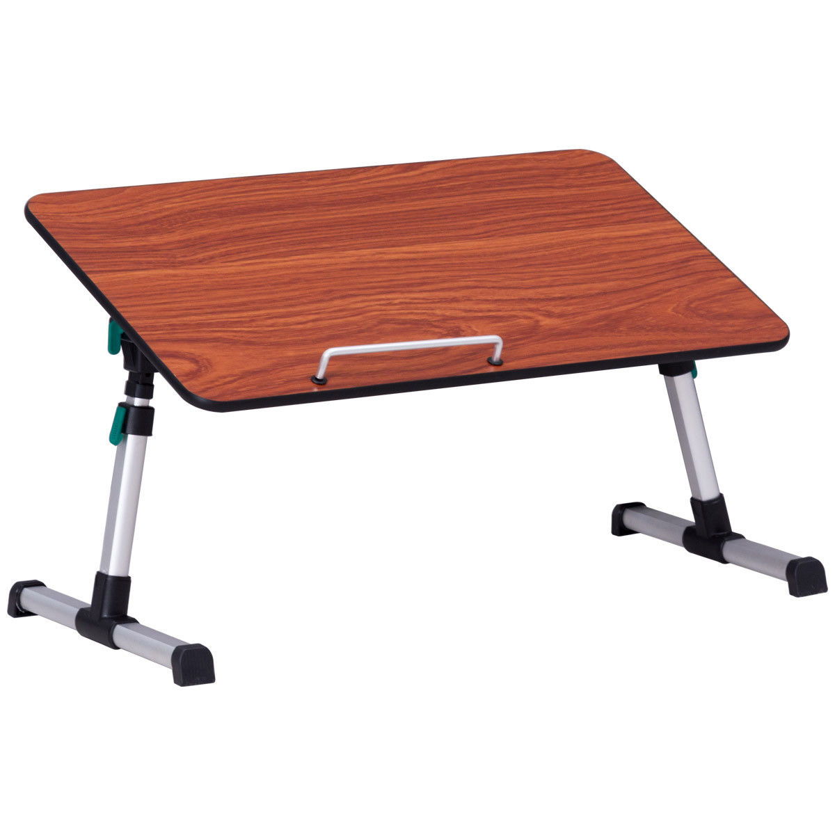 Merveilleux Giantex Portable Height Adjustable Laptop Computer Deask Bed Tray Table  Standing Desk Foldable Breakfast Tray HW56702WA In Laptop Desks From  Furniture On ...