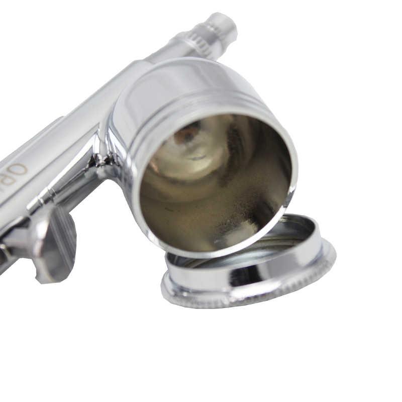 Ophirデュアルアクションエアブラシ銃0.3ミリメートルノズルエアブラシスプレーガン用モデル塗料ボディタトゥーネイルアートメイクエアブラシSet_AC004A