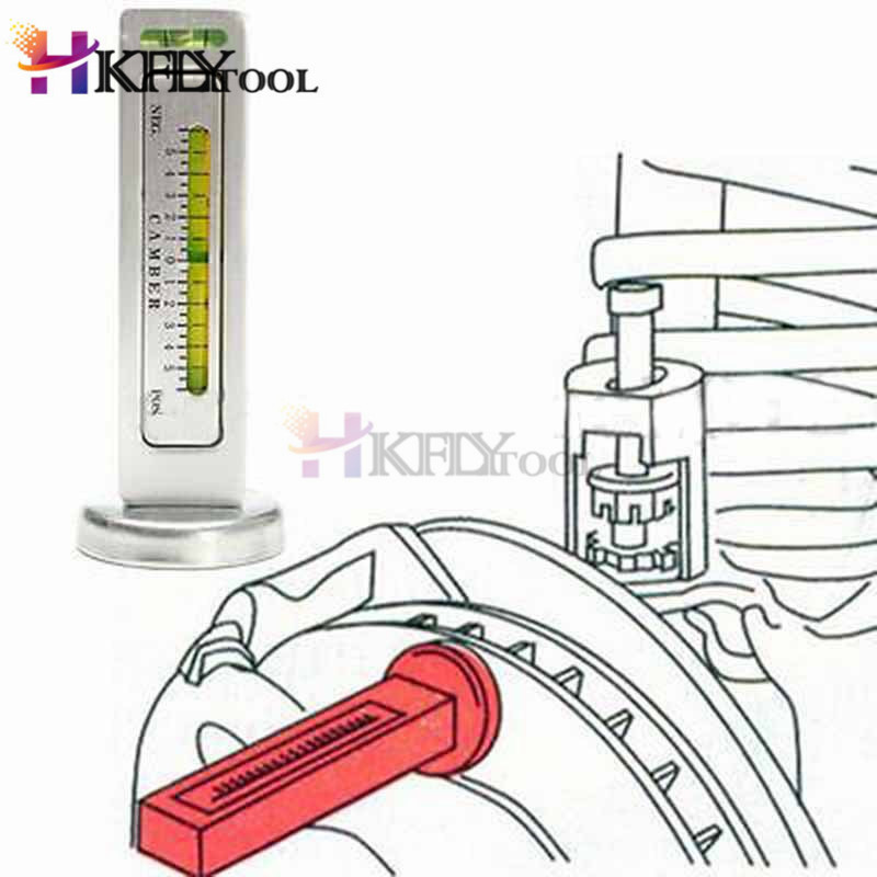 Strut Wheel Hub Alignment for Car Camber Universal Car Magnetic Wheel Alignment Tool with 5 leveling adjustment Truck Yosoo Health Gear Magnetic Camber Gauge