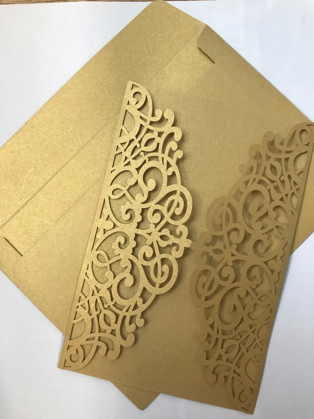 Price Off Promotions Free Envelope Laser Cut Cheap Hot Design Floral Wedding  Invitation Card Retail