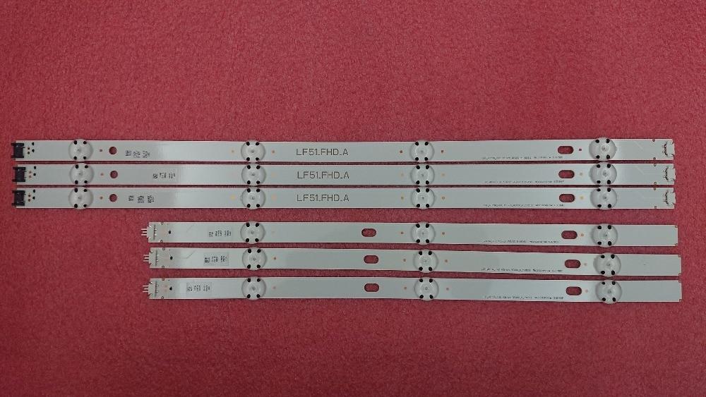 New 5set 30 PCS LED backlight strip for LG 43LF5100 LF51 FHD A LF51 FHD B