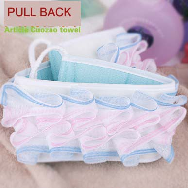 BF040 Strip rubbing towel pull back bath tool 66*9.5*5CM free shipping