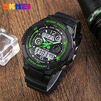 SKMEI Brand Fashion Casual Children Sport Watches Kids Quartz Digital Watch Relogio Relojes Boys Waterproof Girls