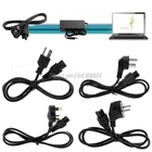 US/UK/EU/AU Plug 3-Pin AC Power Cord Cables For Dell Laptop For Lenovo ThinkPad For IBM S08 Drop ship