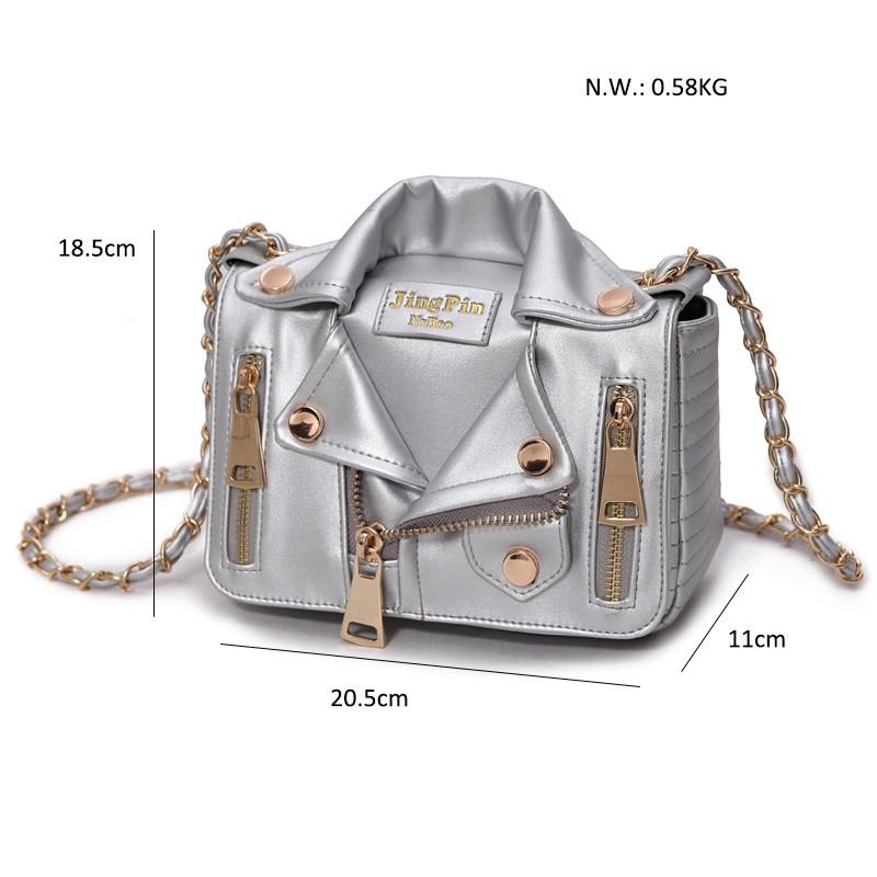 Hot Brand Designer Motorcycle Bags Women Clothing Shoulder Jacket Bags Messenger Bag Women Leather Handbags (21)