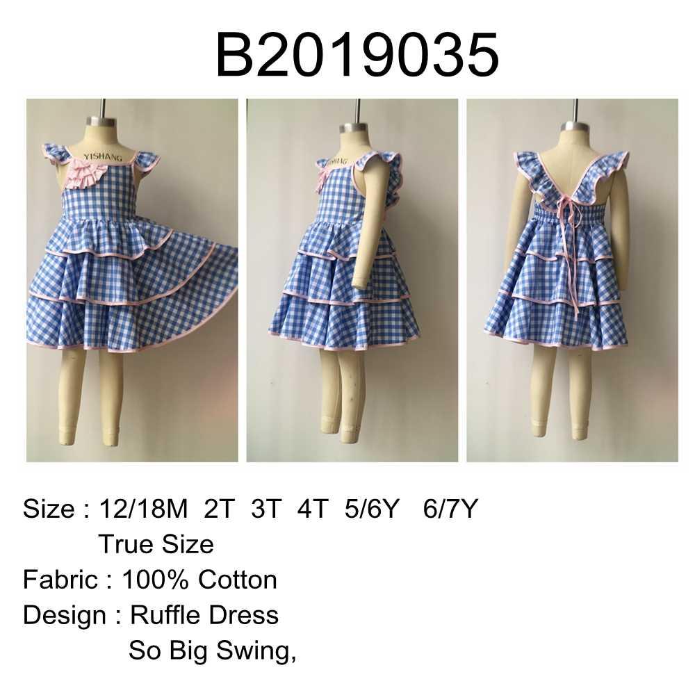 4ed9eb8b2935 ... Dream Cradle 2019 New Beautiful Tutu Dress for Party Birthday , Cotton  Baby Girls Dress ...
