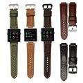 Drop shippingSimplestone Luxury Leather Watch Bracelet Band Strap For Garmin Vivoactive Acetate Dec6