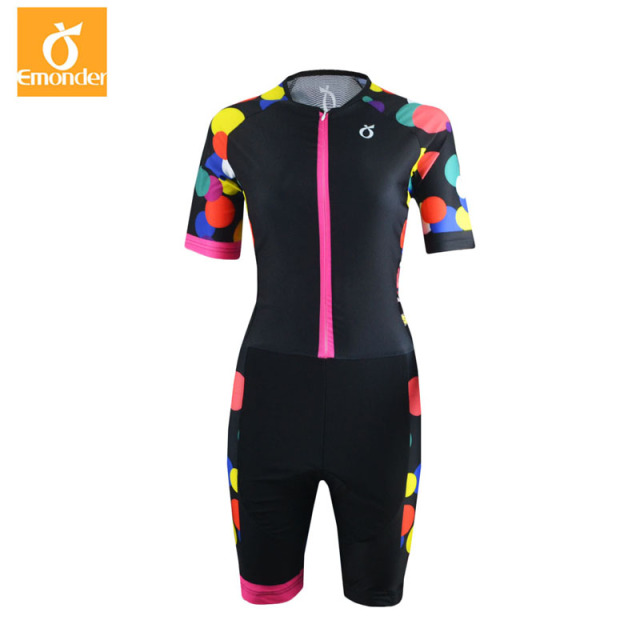 53c24718f Women Short Sleeve Jumpsuit 2018 Pro Taem Triathlon Suit Ropa Ciclismo  Maillot Cycling Jerseys Skinsuit Bike Clothing