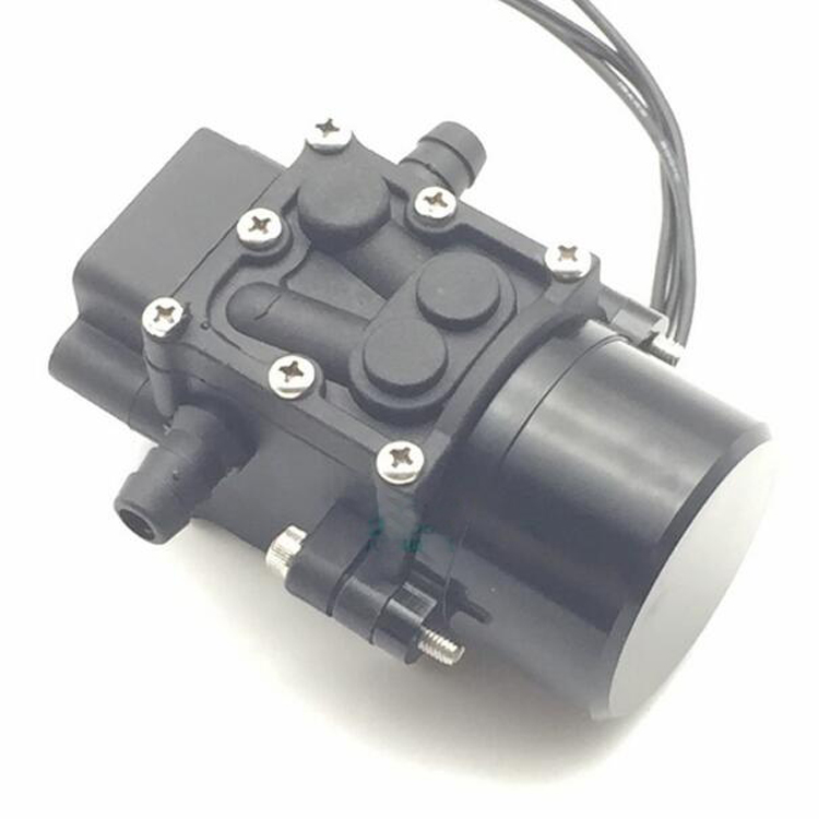 Yuenhoang 12V~24V Brushless Water-pump Farm Chemicals Spray Brushless Pump 45W for Drone UAV Agriculture Plant Protection Parts 4 pcs agriculture drone water tank aluminum alloy fixed parts