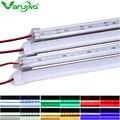 5pcs/lot 50CM U Aluminium shell DC 12V 36 SMD 5630 LED Hard Rigid LED Strip Bar Light with PC cover
