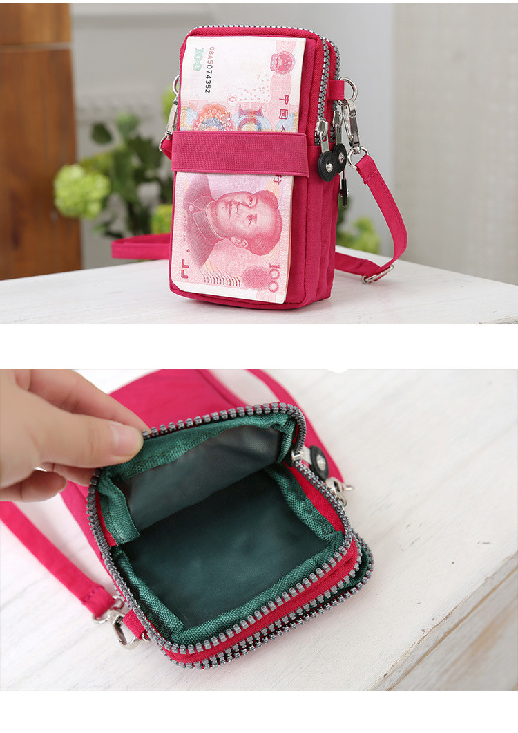 HTB1qmrUtXuWBuNjSszbq6AS7FXal - Small Shoulder Bags High quality Female nylon phone Bags mini Women Messenger Bags Women Clutch New