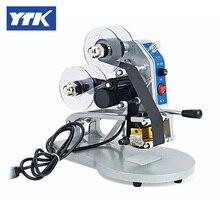 YTK ручной номер слова Дата печатная машина для мешка, бумаги и пленки измельчения