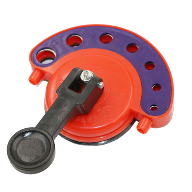 4-12mm Diamond Drill Bit Tile Glass Hole Saw Core Bit Guide With Vacuum Base Sucker Tile Glass openings Locator P15