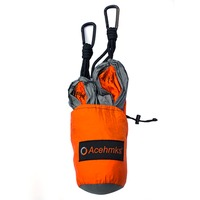Acehmks Outdoor Camping Hammocks Ultralight Portable 210T 70D Nylon Hamc With 2 Carabiners Hammock Tree Straps 300CMX2PCS Hamac