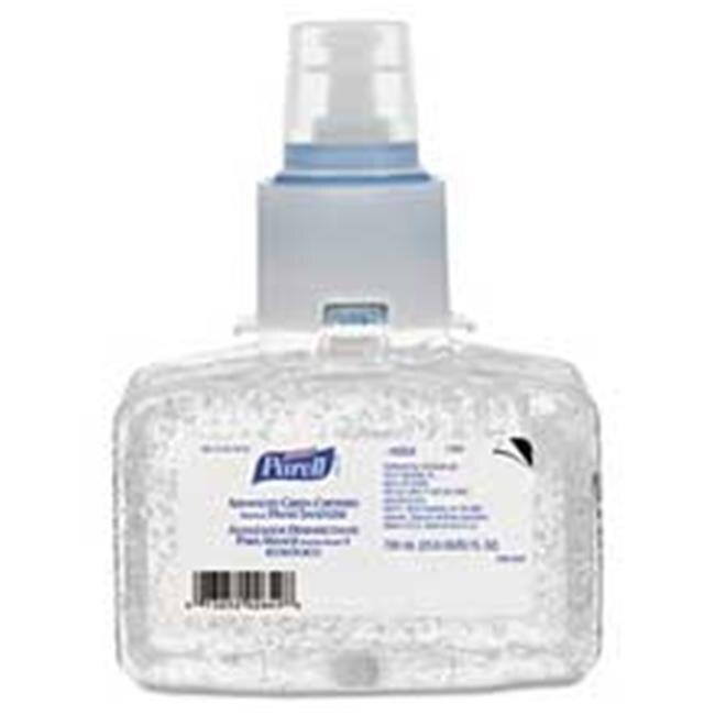 Go-Jo Industries 130303CT Advanced Green Certified Instant Hand Sanitizer Refill Gel 700 ml. famous names lumos instant impact bottom coat 15 ml