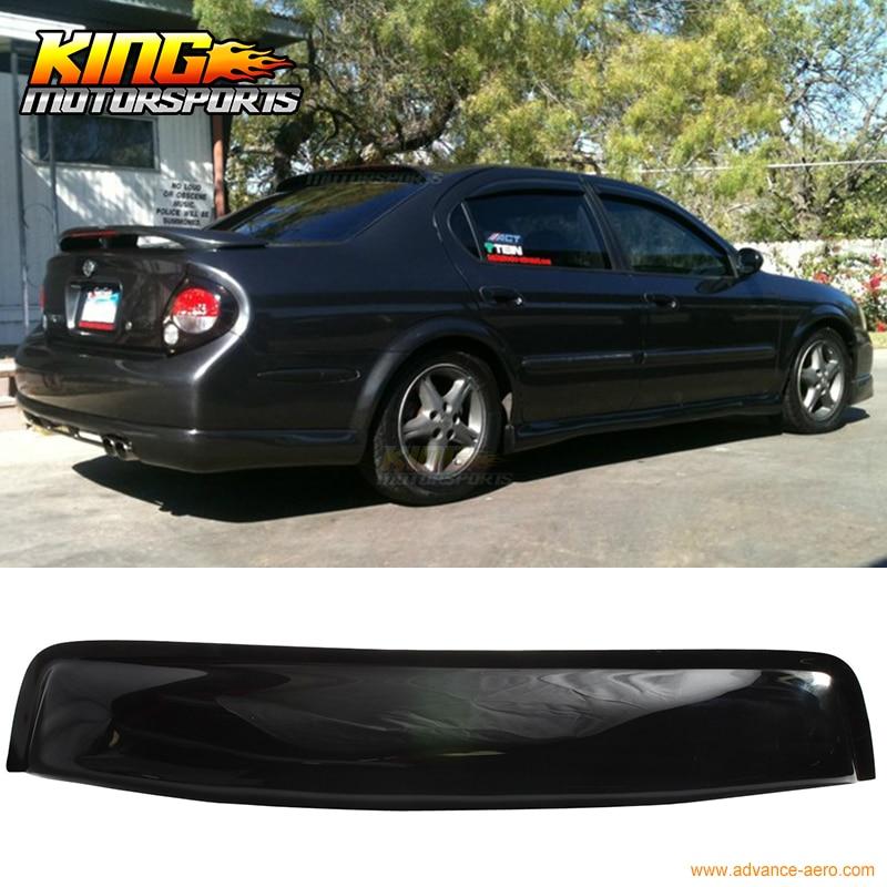 Fit For 00 01 02 03 Nissan Maxima A33 OE Style 4Dr Sedan ABS Rear Window Visor