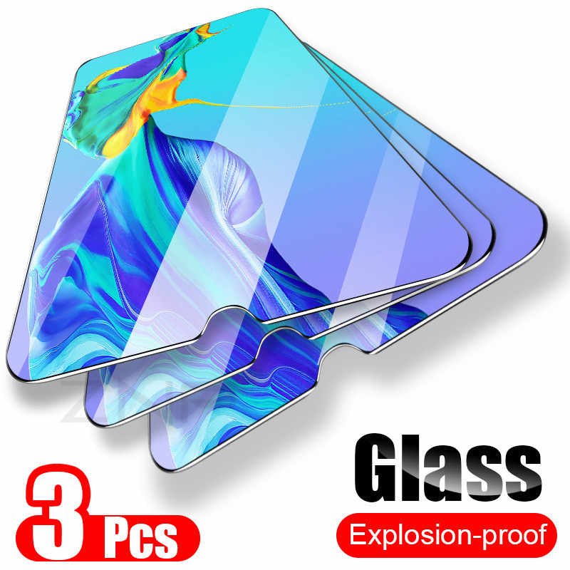 ZNP 3Pcs Tempered Glass For Huawei P30 P10 P20 Lite Plus Glass For Huawei Mate 20 Lite Pro P Smart 2019 Screen Protector Film