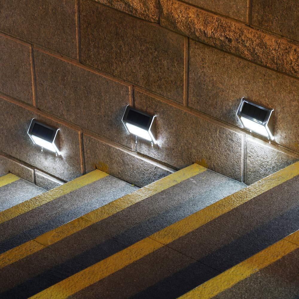 Led Waterproof Wireless Sensor Solar Energy Wall Light Lamp For Garden Decoration Outdoor Exterior Home Terrace House