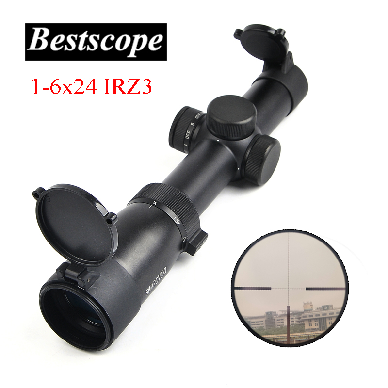 Optical Sight Swarovskl 1-6x24 IRZ3 F101 Circle Dot Punctuate Differentiation Sight Glass Reticle Rifle Scope Hunting Riflescope tactical optical sights 1 6x24irz3 f101 circle dot punctuate differentiation sight glass reticle rifle scope hunting riflescope