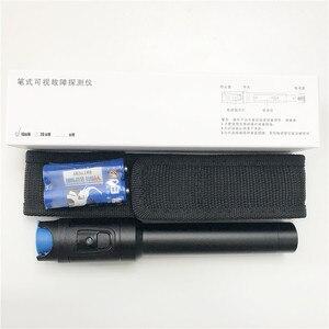 Image 5 - Fabrika doğrudan satış 10mW görsel hata bulucu Fiber optik kablo test cihazı kırmızı lazer ışığı kalem tipi VFL 10KM kontrol ucuz fiyat