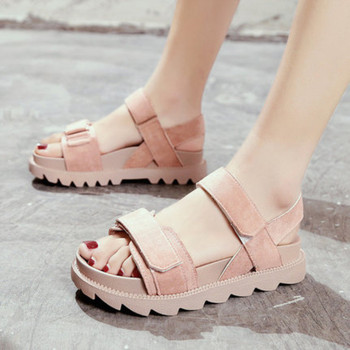 241801a2 Sandalias de moda para Mujer 2019 verano nuevas sandalias casuales  antideslizante suave Muffin sandalias femeninas gancho