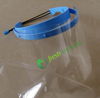 Dental 2 SETS Dental Face Shield Mask Protection Mask Clear Anti Fog Medical Factory Dental Lab