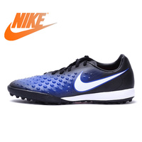 Original Authentic NIKE MAGISTAX ONDA II TF Men's Comfortable Football Shoes Soccer Shoes Breathable Hard Court Durable 844417