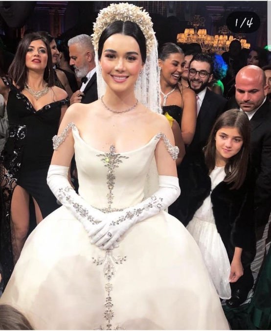 Eslieb High end custom made beading wedding dress 2019 Ball Gown wedding dresses bridal Dresses Vestido