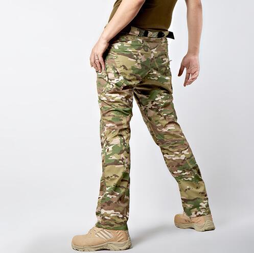 Militär Uniform männlichen hose leicht elastische gewebe
